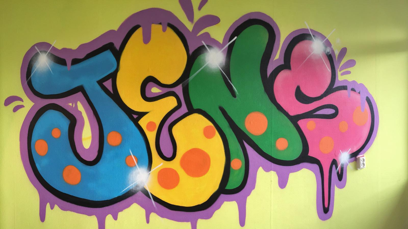 Graffiti_slaapkamer_IJgenweis