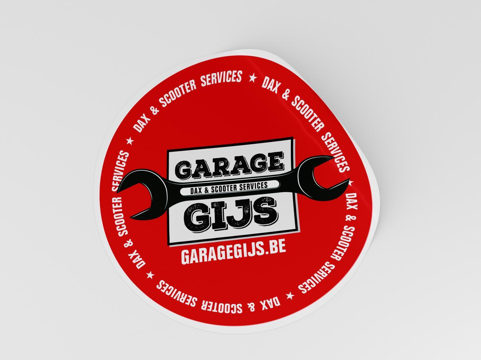 11GarageGijs-Ijgenweis sticker