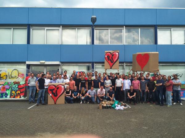 Wehkamp teambulding Graffitiworkshop